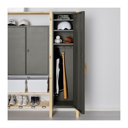 Armadietti spogliatoio tutto sugli armadietti spogliatoio for Ikea ivar mobile